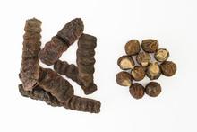 Dried Shikakai Pods And Soapnuts