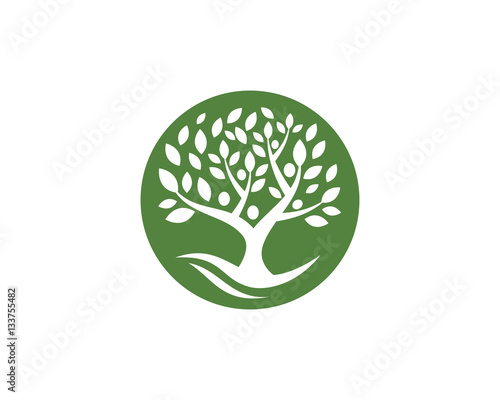 Family Tree Symbol Icon Logo Design Template Buy This Stock Vector