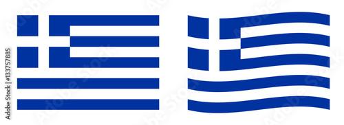 Fototapeta Flag of Greece obraz