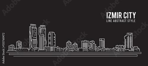 Cityscape Building Line Art Vector Illustration Design Izmir City Buy This Stock Vector And Explore Similar Vectors At Adobe Stock Adobe Stock