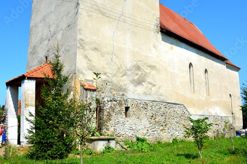 Fotografie, Obraz  Medieval fortified saxon church in Avrig, Sibiu county, Transylvania, Romania