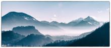 Alpine Winter Valley, Slovenia