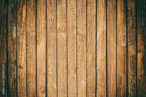 Fototapeta Old wood boards texture or background obraz na płótnie