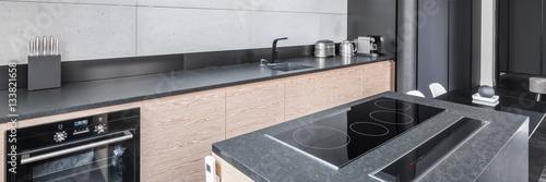 Fototapeta Kitchen with functional worktop obraz