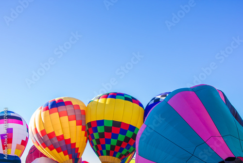 Photo Group of Hot Air Balloons in Albuquerque