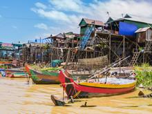 Boats And Stilt Houses In Kamp...