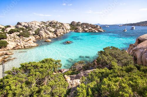 Photo  Beach of Cala Coticcio, Sardinia, Italy