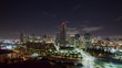Time Lapse of downtown San Diego Skyline.