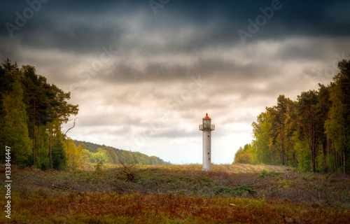Photo sur Toile Phare Wolin lighthouse
