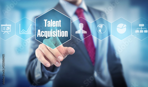 talent acquisition Canvas Print