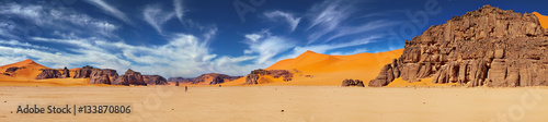 Photo sur Toile Desert de sable Sahara Desert, Algeria