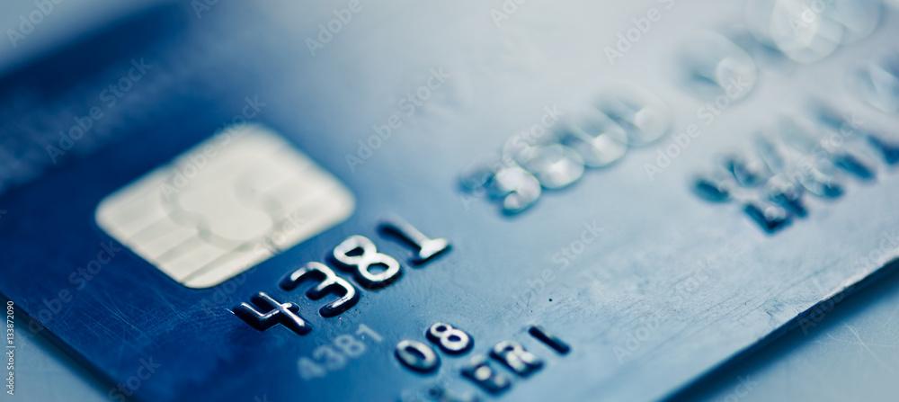 Fototapeta Credit cards