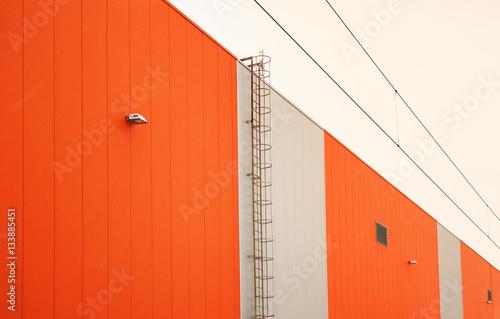 Staande foto Industrial geb. Abstract of Industrial Building