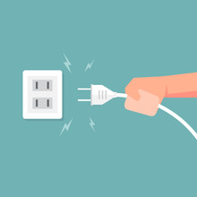 Connecting Electric Plug With ...