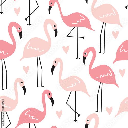bezszwowe-flamingo-wzor-ilustracji-wektorowych