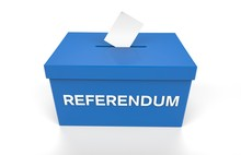 Referendum Voting Box