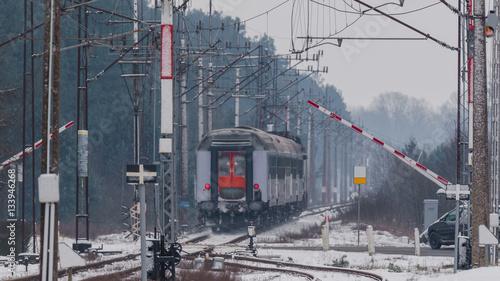Valokuvatapetti RAILWAY TRANSPORT
