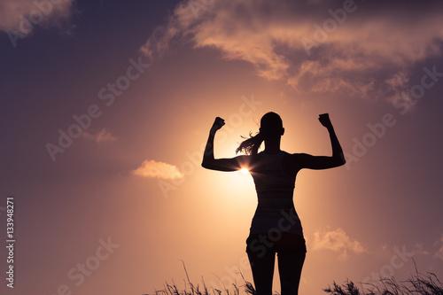 Fotografie, Tablou  Woman power! Strong confident women.