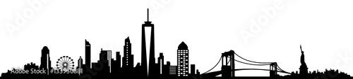 Fototapeta Skyline New York obraz
