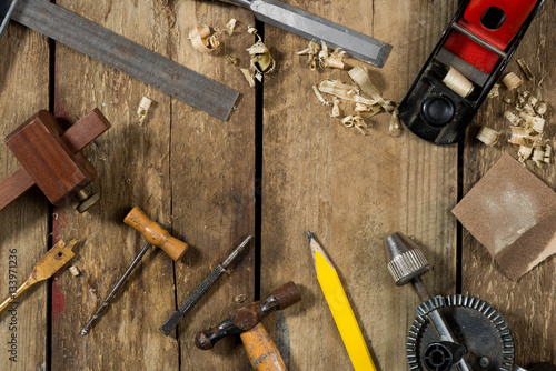 Old Woodworking Tools Buy This Stock Photo And Explore Similar Images At Adobe Stock Adobe Stock