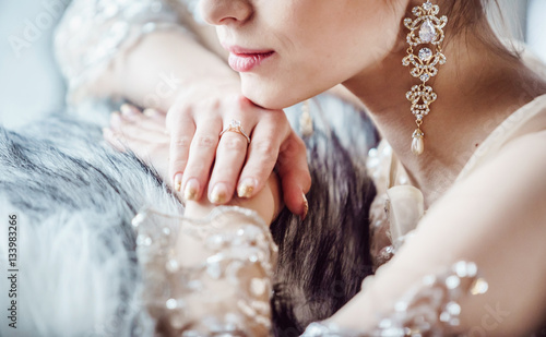 Fotomural beautiful bridal