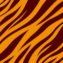 Tiger. Background Tiger Skin. ...