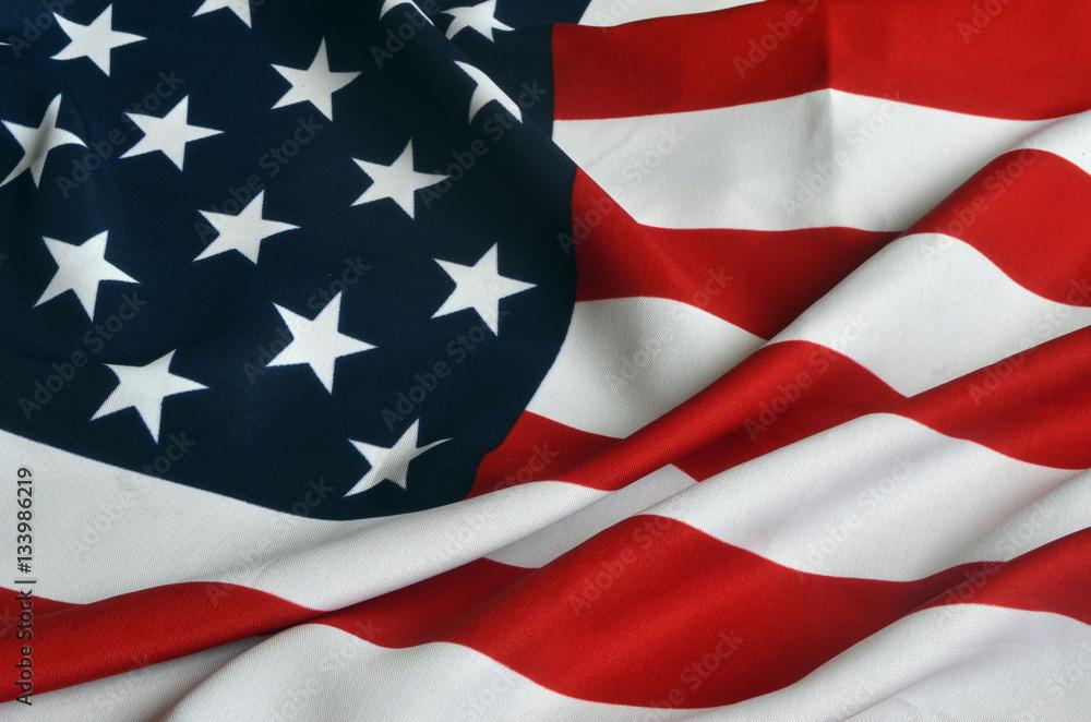 Fototapety, obrazy: American Flag as background
