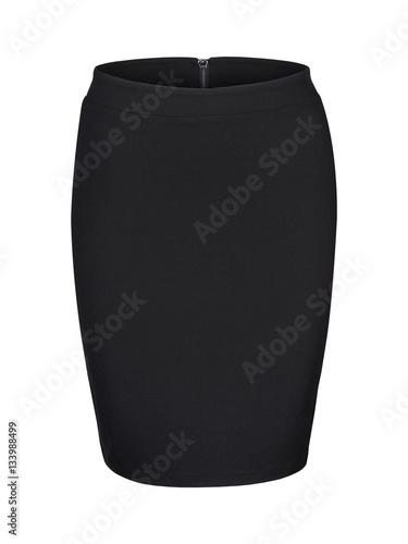 Fotografia Black skirt isolated on white