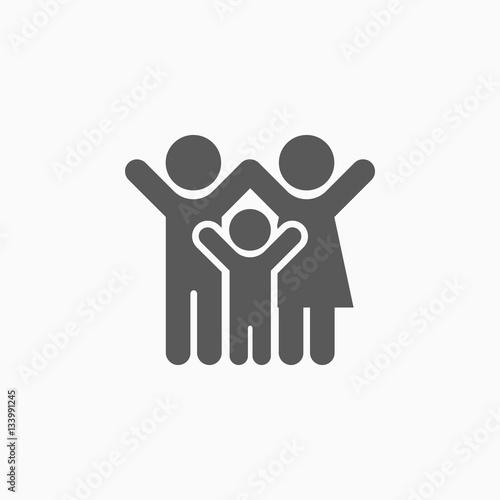 Fotografia family icon