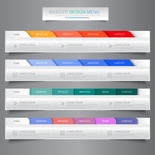 Web Site Design Menu Navigatio...