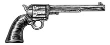 Pistol Gun Vintage Retro Woodc...