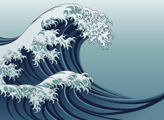 Obraz Great Wave