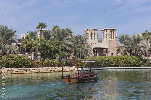 Photo  View of the Souk Madinat Jumeirah, Dubai, UAE