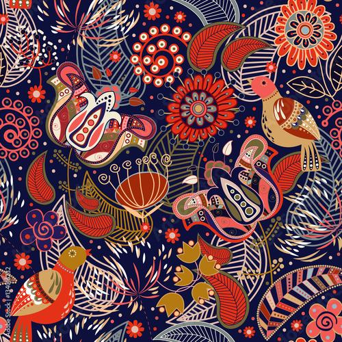 kwiatowy-wektor-wzor-wiosenne-kwiaty
