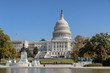 View of Capitol building in Washington DC, home of US Congress