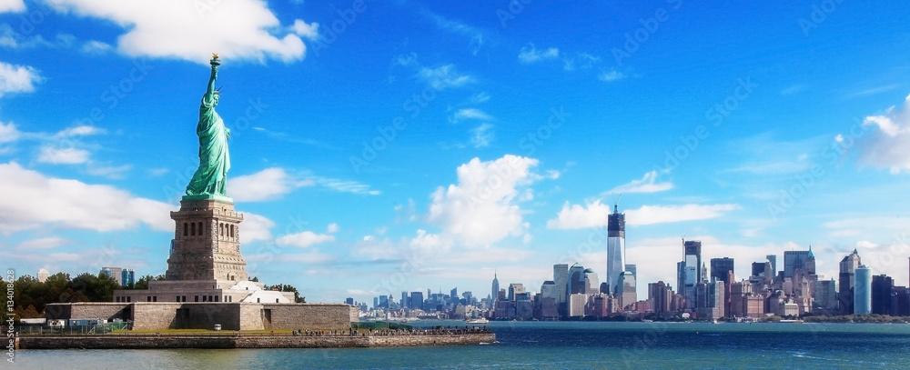 Fototapety, obrazy: Panorama on Manhattan, New York City