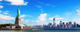 Fototapeta Nowy Jork - Panorama on Manhattan, New York City