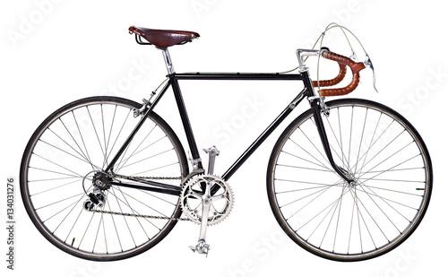 Deurstickers Fiets Road bike, vintage bike