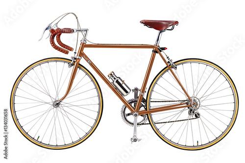 Aluminium Prints Bicycle Road bike, vintage roadbike