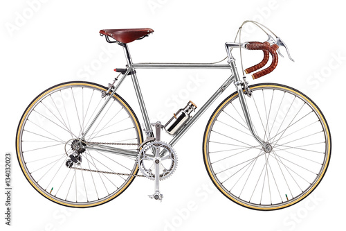 In de dag Fiets Road bike, vintage roadbike