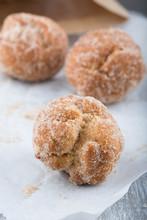 Donut Holes  Rolled In Cinnamon Sugar