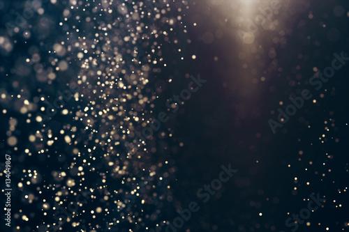 Foto  Abstrakter Hintergrund der Funkelnlichter