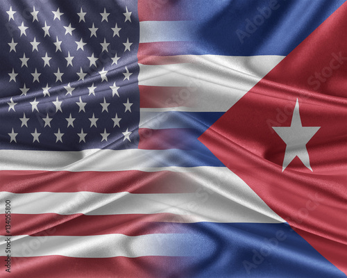 Photo USA and Cuba.
