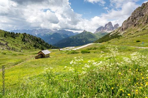 Fotografie, Obraz  Passo Pordoi, Dolomites, Italy