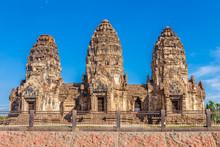 Phra Prang Sam Yot Temple, Anc...