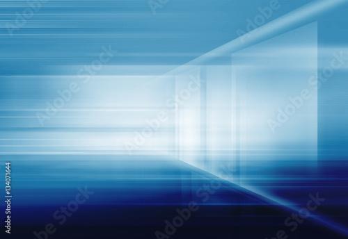 Fotografiet  Abstract High Tech 3D Space Background