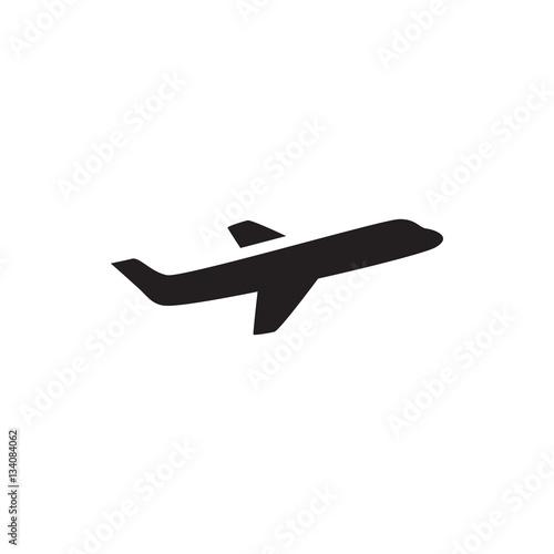 samolot ikona ilustracja