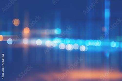 Fotografiet  background blurred bokeh. Lights Ceremonies