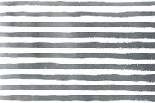 Silver Grunge Stripe Pattern.
