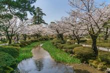 Japanese Landscape - Kenrokuen...